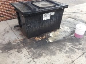 dumpster-pad-cleaning
