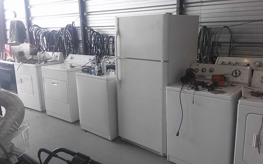 hauling away your old appliances